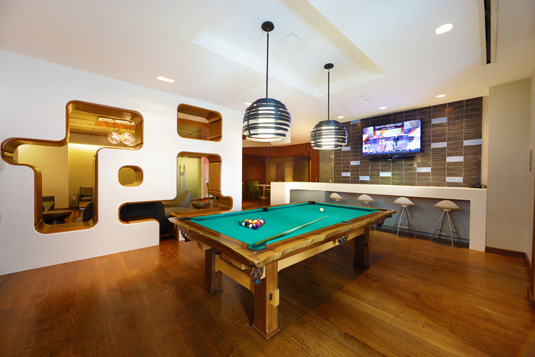 Amenities gallery - 1 of 8 - pool tables at 200 Water St.