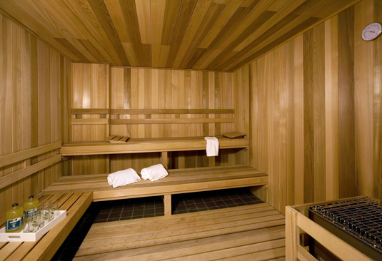 Amenities gallery - 5 of 6 - sauna at 4705 Center Boulevard
