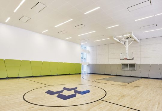 Amenities gallery - 6 of 9 - basketball court at The Hayden