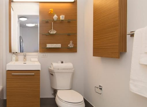 Interior gallery - 5 of 8 - Linc bathroom with wooden finishes